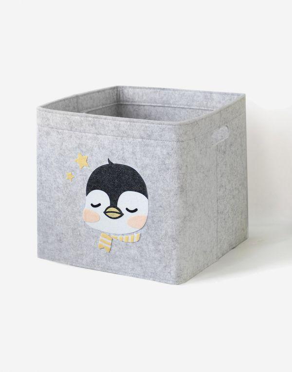 Aufbewahrungsbox Kinder | Baby Pinguin