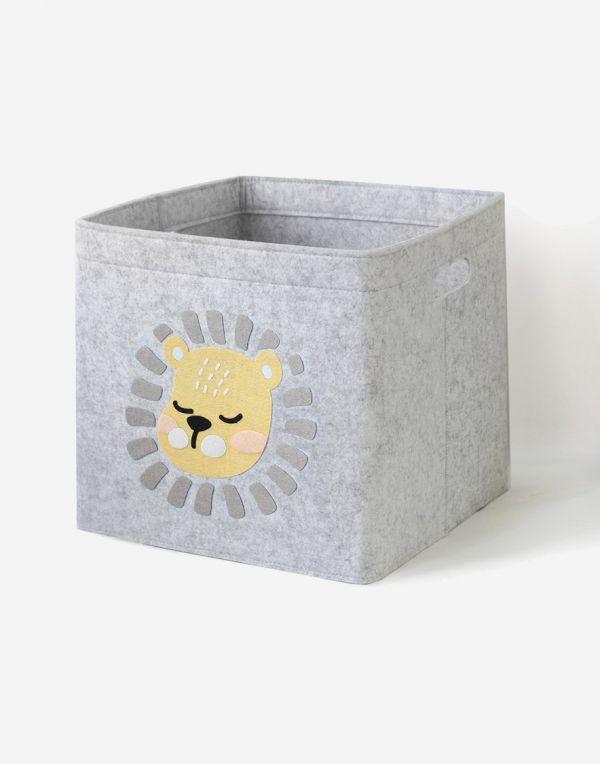 Aufbewahrungsbox Kinder | Junge Löwen