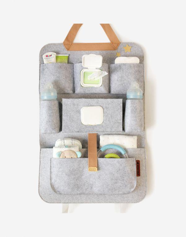 Baby Autositz Organizer | Gelb
