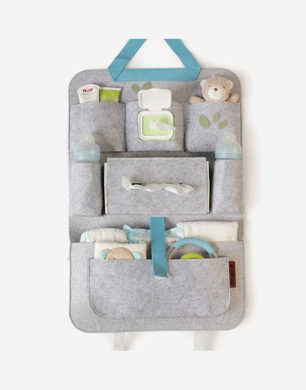 Baby Autositz Organizer | Blau