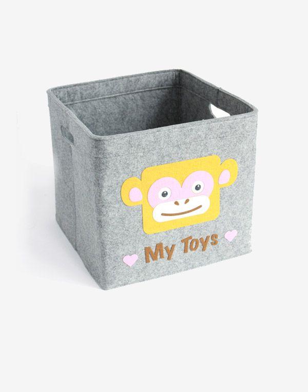 Aufbewahrungsbox Kinder | Affe