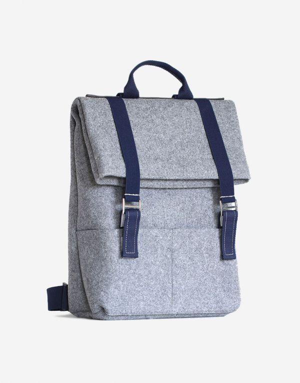 DeFa Klapp Daypacks Rucksack - Blau