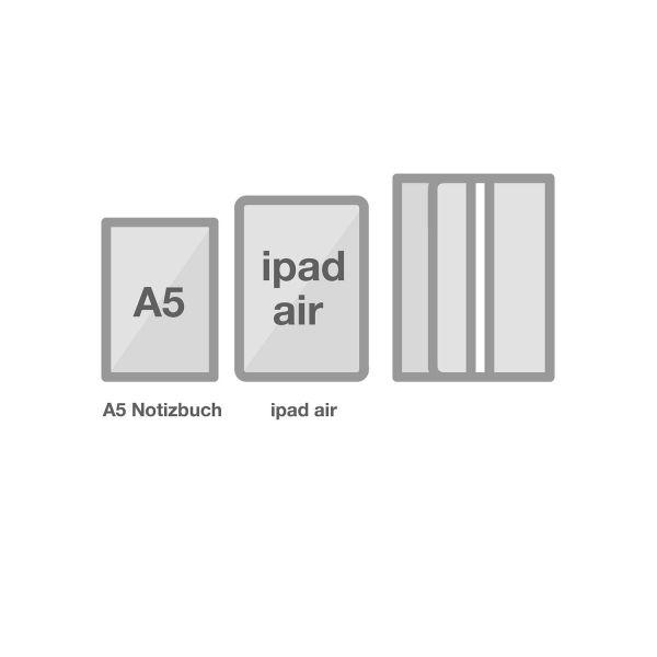 Multifunktionale Stifteetui A5