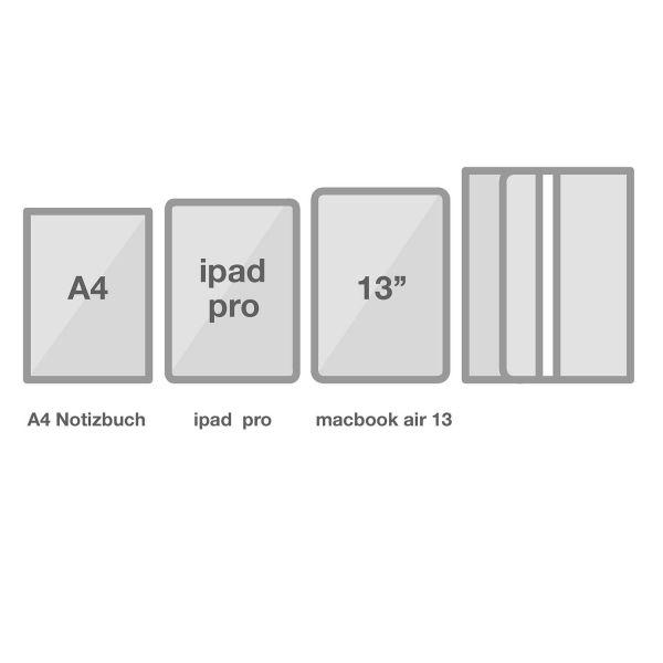 Multifunktionale Stifteetui Macbook Pro 13