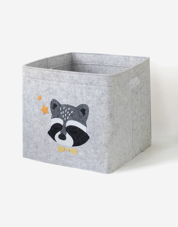 Aufbewahrungsbox Kinder | Waschbärchen
