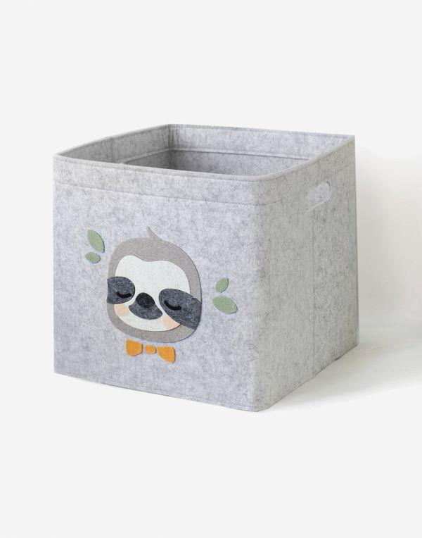 Aufbewahrungsbox Kinder   Faultierchen