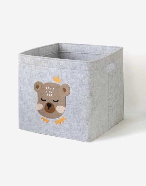 Aufbewahrungsbox Kinder | Bärchen