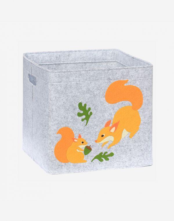Aufbewahrungsbox Kinder   Eichhörnchen