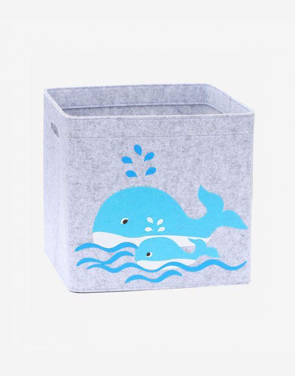 Aufbewahrungsbox Kinder | Wal
