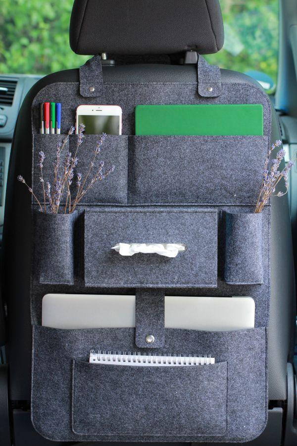Autositz Organizer | Dunkellgrau