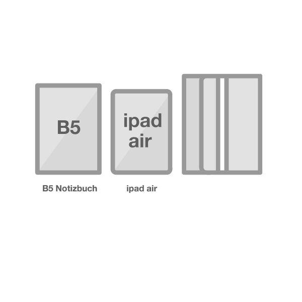 Multifunktionale Stifteetui B5